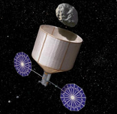 Kéo tiểu hành tinh đến mặt trăng