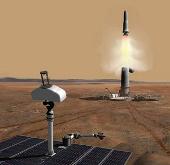 Gian nan đưa đất sao Hỏa về Trái đất