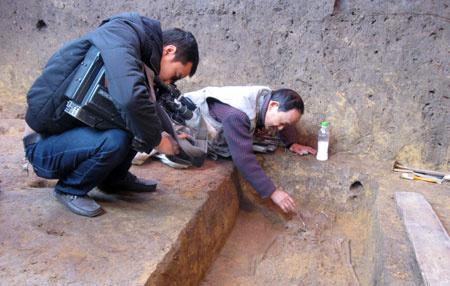 Bộ di cốt hàng ngàn năm tuổi vẫn còn khá nguyên vẹn.