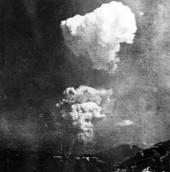 Bức ảnh hiếm về đám mây nguyên tử hình nấm tại Hiroshima