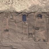 Trung Quốc xây dựng công trình bí ẩn giữa sa mạc