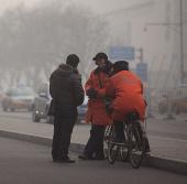Không khí Bắc Kinh ở mức ô nhiễm nguy hiểm