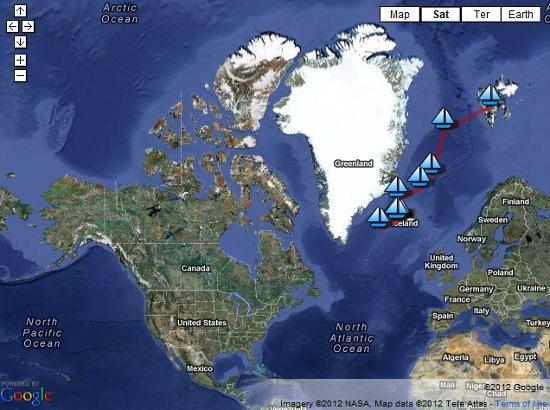 Greenland, nơi từng là nhà của người Viking.