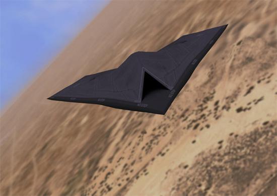 Máy bay ném bom không người lái Taranis của Không quân Hoàng gia Anh.
