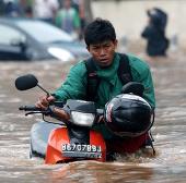 Indonesia: Mưa lớn làm hàng nghìn ngôi nhà bị ngập