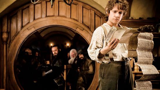 Một cảnh trong phim Người Hobbit phiên bản năm 2012