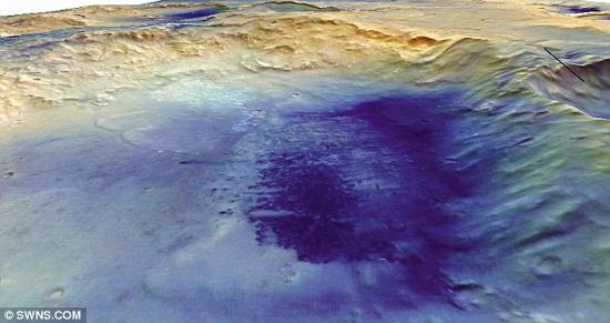 Hố McLaughlin khổng lồ do một thiên thạch đâm vào bề mặt sao Hỏa tạo  ra, đã hé lộ những dấu hiệu cho thấy sự sống từng tồn tại trên hành tinh đỏ.