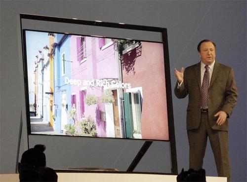 "Giới thiệu mẫu tivi ""khủng"" Samsung 4K/Ultra HD."