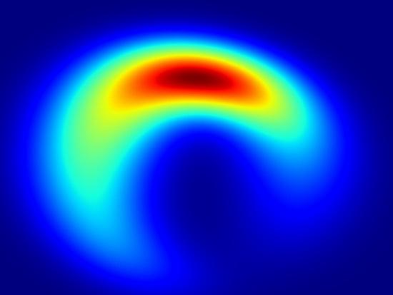 Các nhà thiên văn học cho rằng hố đen thực chất hình lưỡi liềm...