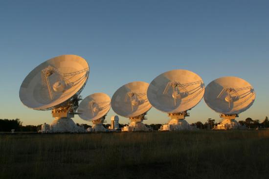 Mạng Khối Kính viễn vọng Úc tại New South Wales