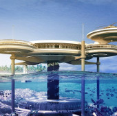 Khách sạn dưới biển lớn nhất thế giới
