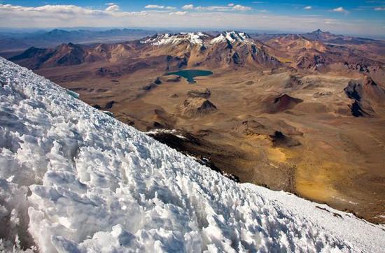 Sườn núi đóng băng