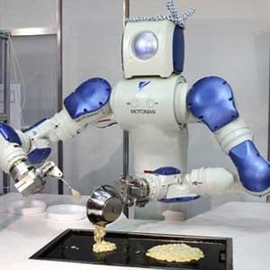 Robot sẽ có mạng Internet riêng