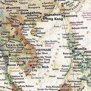 """Ai làm """"méo"""" thông tin về biên giới lãnh thổ Việt Nam?"""