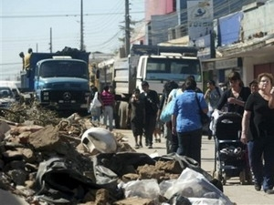 Chile rung chuyển vì dư chấn động đất liên tiếp