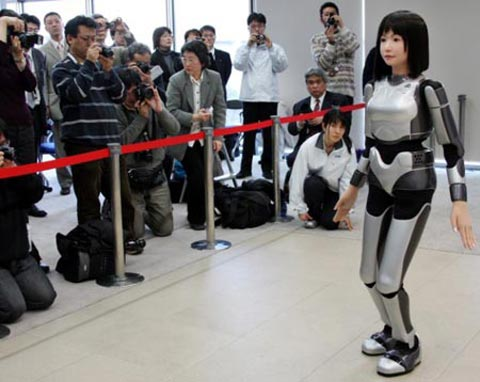 Nhật nghiên cứu việc đưa rôbốt hình người lên ISS