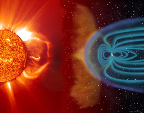 """Bão Mặt Trời có thể gây ra bão """"Katrina toàn cầu"""""""