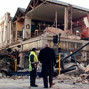 65 người bị chết trong trận động đất ở New Zealand