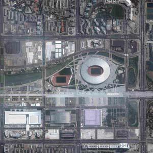 Chụp ảnh từ không gian nắm bắt tình hình trên mặt đất