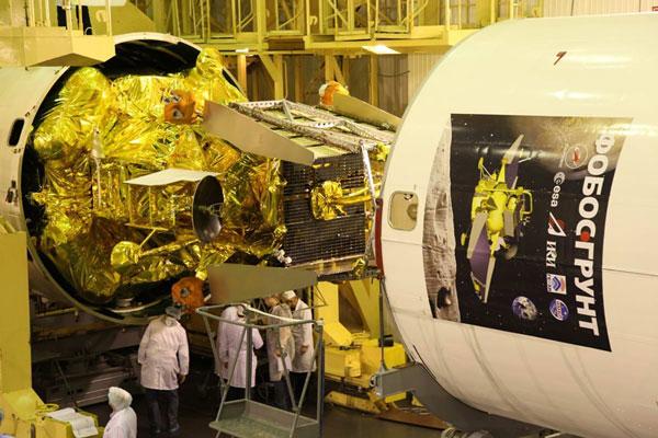 """Nguyên nhân gây tai nạn cho Trạm """"Phobos-Grunt"""""""