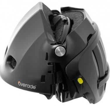 Ra mắt loại mũ bảo hiểm gấp đầu tiên trên thế giới
