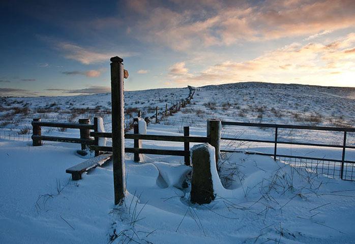 Những bức ảnh đẹp nhất về mùa đông ở xứ sở sương mù