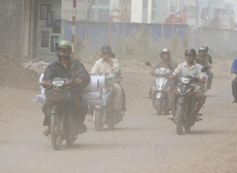 Sức khỏe người dân ảnh hưởng do chất lượng không khí ở Việt Nam không đảm bảo.