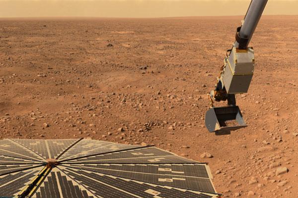 Phoenix thám hiểm bề mặt sao Hỏa
