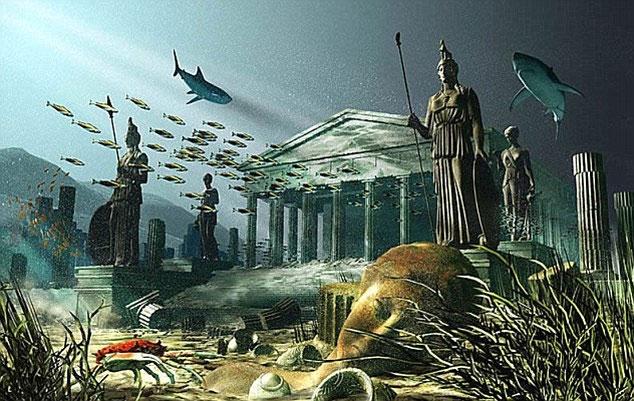 Thành phố Atlantis biến mất trên Google Earth