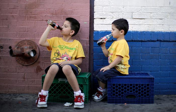 Uống quá nhiều nước ngọt dễ bị hen suyễn