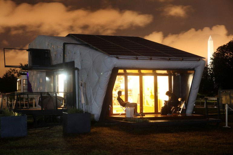 Chip House - Ngôi nhà tự động sử dụng năng lượng mặt trời