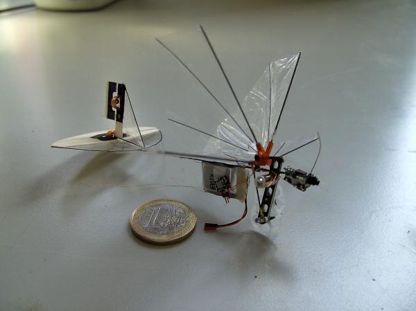 Robot vỗ cánh bay như bướm
