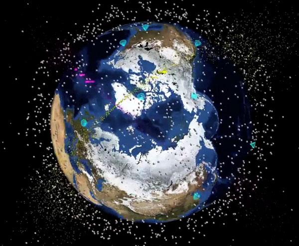 """Thụy Sĩ chế vệ tinh dọn """"rác không gian"""""""