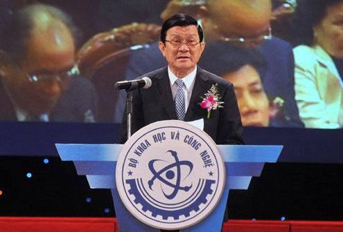 Trao giải cao quý nhất về khoa học của Việt Nam