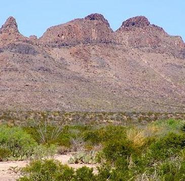 Hoang mạc bí ẩn tại Mexico