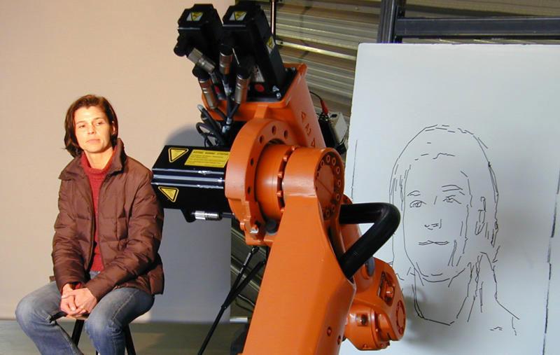 Robot họa sĩ