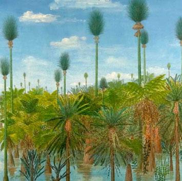 """Cánh rừng """"Pompeii"""" 300 triệu năm ở châu Á"""