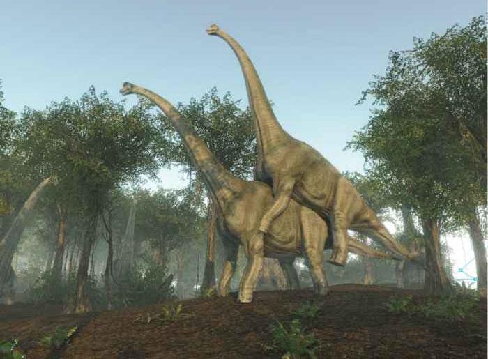 Giả thuyết mới nhất tin rằng khủng long sẽ có tư thế sex giống với loài chó.