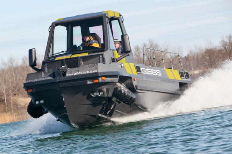 Ra mắt ôtô lai tàu thủy Phibian & Humdinga II