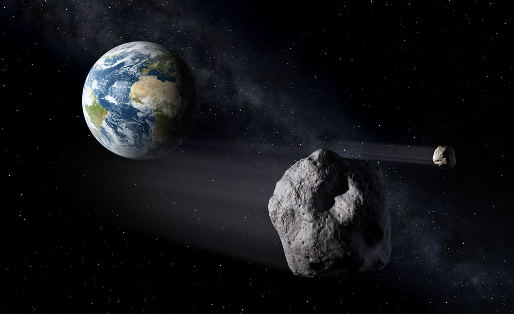 Thiên thạch 2011 AG5 có thể tấn công trái đất vào năm 2040