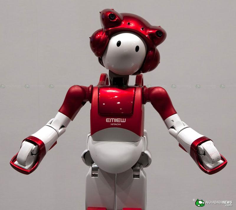 Robot biết nhận diện khuôn mặt