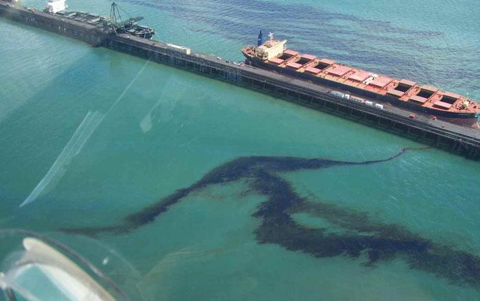 VN có thể truy tìm thủ phạm gây tràn dầu trên biển
