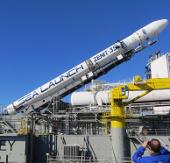 Tên lửa của Nga rơi xuống biển ngay sau khi rời bệ