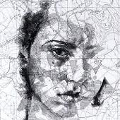 Chùm ảnh chân dung trên bản đồ