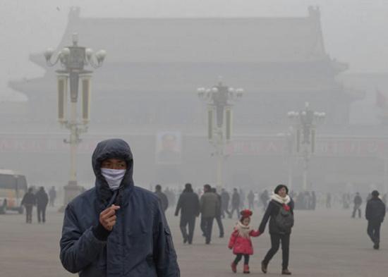 Khói bụi ô nhiễm từ Trung Quốc lan sang Nhật - KhoaHoc.tv
