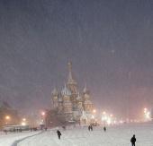 Moscow hứng tuyết rơi dày nhất một thế kỷ