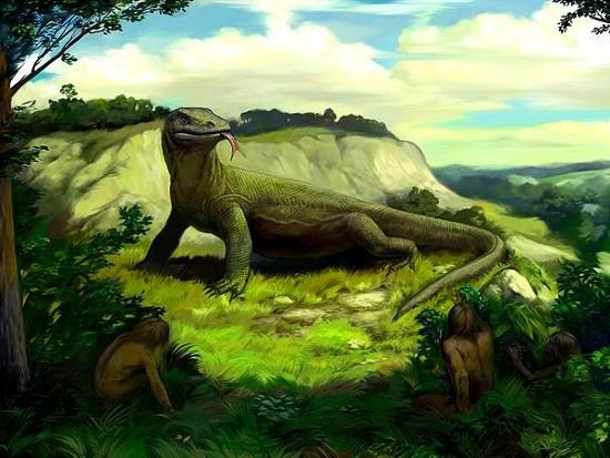 Dù tuyệt chủng từ lâu, nhưng thường xuyên vẫn có người thông báo với chính quyền nhìn thấy loài thằn lằn khổng lồ này.
