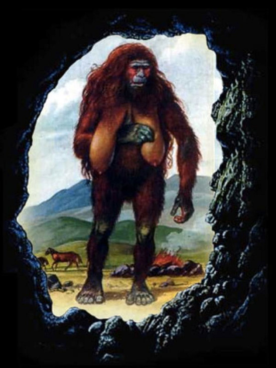 Người Almas có vóc dáng thấp bé, cơ bắp mạnh mẽ, mình đầy lông và chưa có ngôn ngữ.