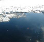 Tìm thiên thạch dưới đáy hồ trong vô vọng
