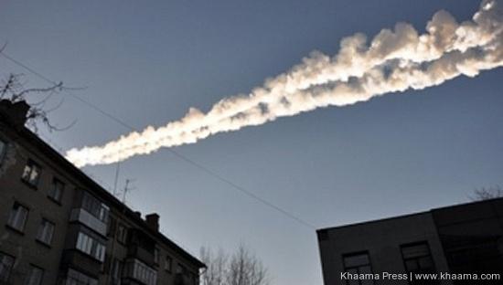 Sức mạnh của vụ nổ thiên thạch trên bầu trời nước Nga hôm 15/2 tương đương 20 lần quả bom nguyên tử mà quân đội Mỹ ném xuống thành phố Hiroshima của Nhật Bản vào năm 1945